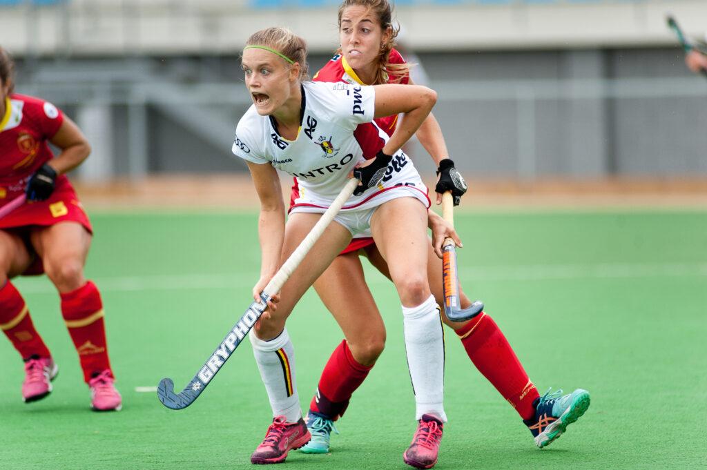 belgica-españa femenino de hockey hierba